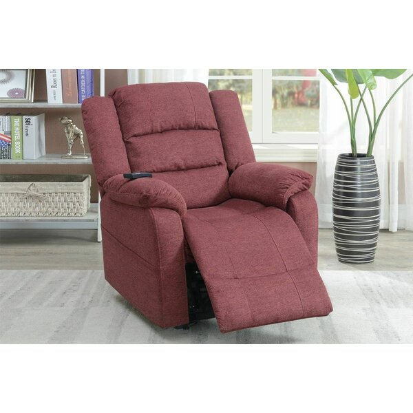 Hibba Lift Power Push Button Recliner By Red Barrel Studio
