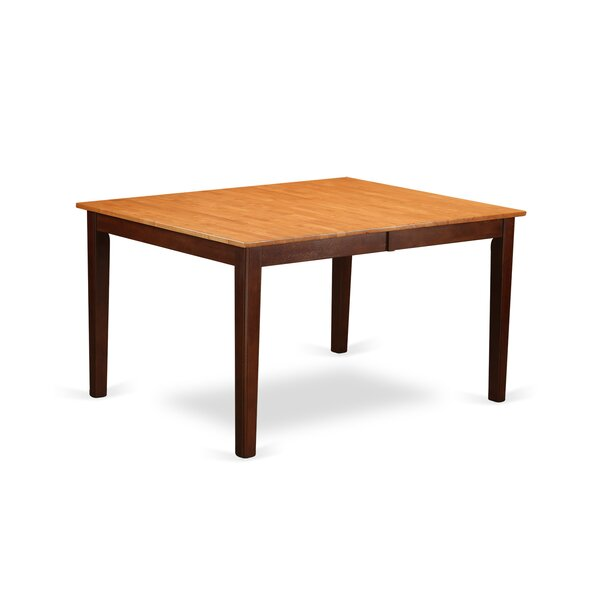 Forada Solid Wood Dining Table by Red Barrel Studio Red Barrel Studio