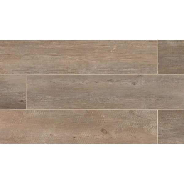 Tahoe 8 x 40 Porcelain Trail Tile by Grayson Martin