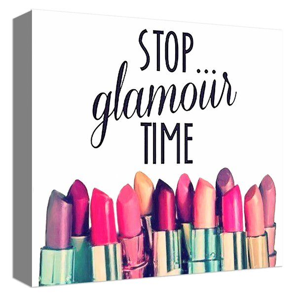 Glamour Time Vintage Advertisement on Canvas by PTM
