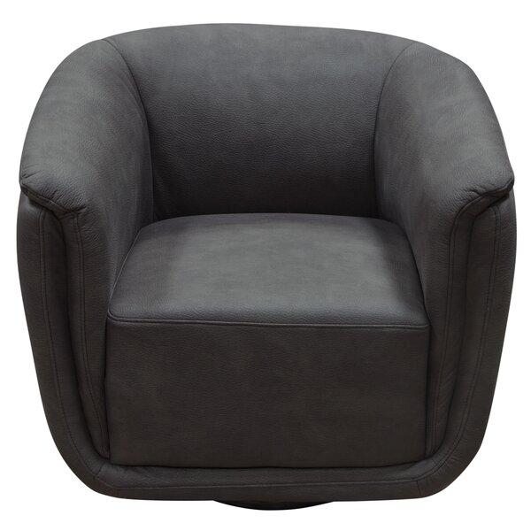 Logan Swivel Accent Barrel Chair by Diamond Sofa