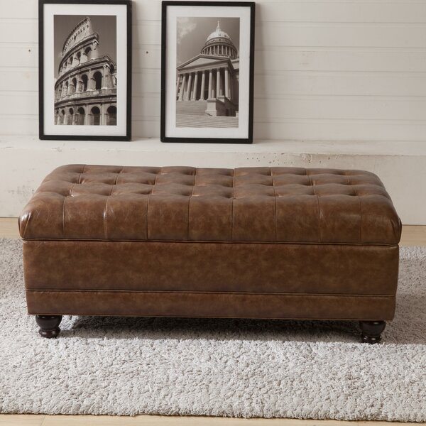 Classic Upholstered Storage Bench by Corzano Designs