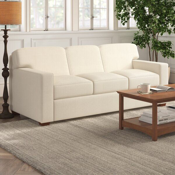 Gillis Cotton 79-inch Square Arm Sofa By Birch Lane™ Heritage