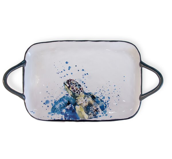 Helmuth Under The Sea Accent Tray by Highland Dunes