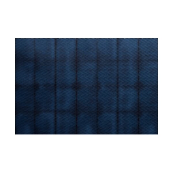 Viet Blue Stripe Indoor/Outdoor Area Rug by Bloomsbury Market
