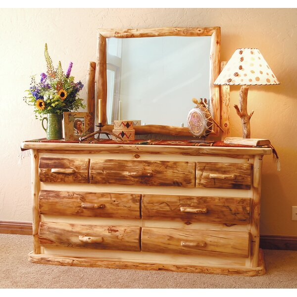 Aspen Heirloom 7 Drawer Dresser by Mountain Woods Furniture
