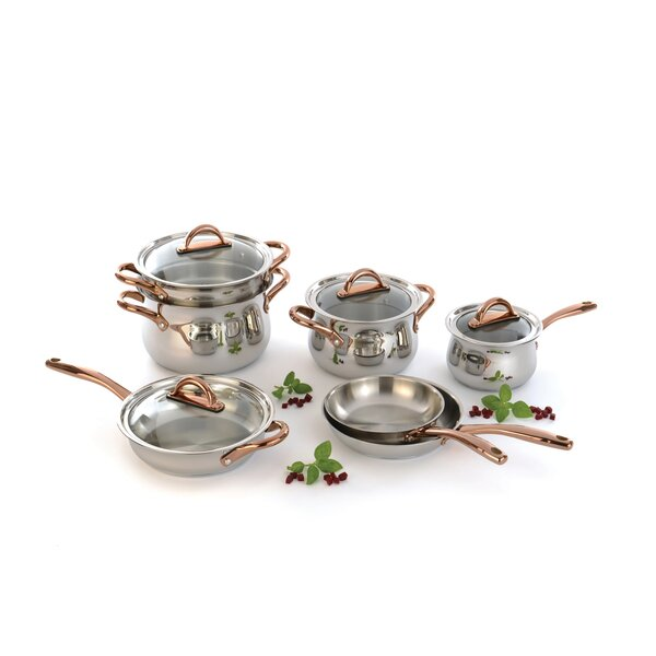 Cociani Cookware Set (Set of 11) by Mint Pantry