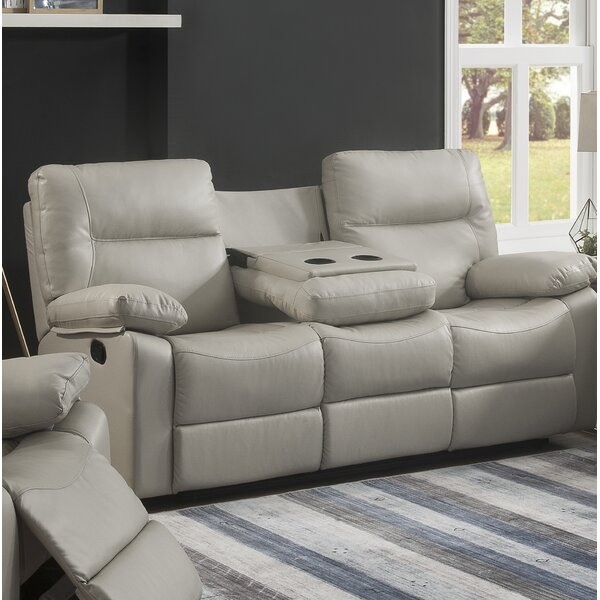 Mahr Reclining Sofa by Ebern Designs