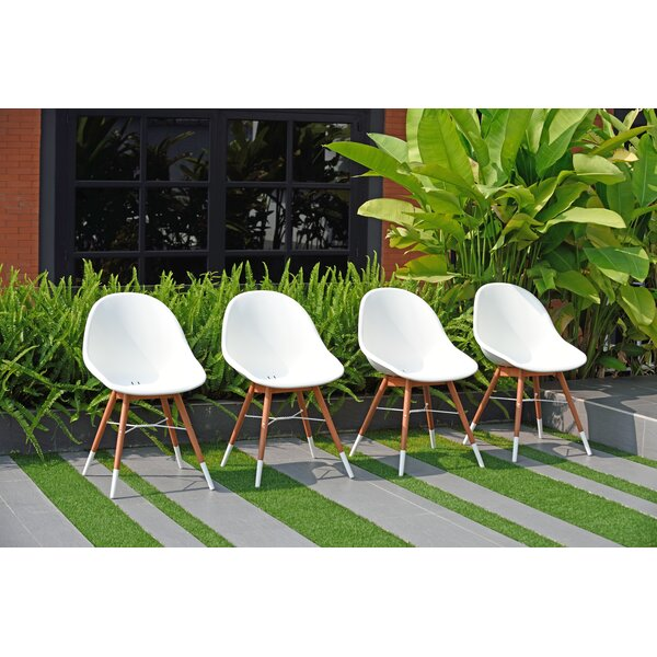 Woolford Patio Side Chair (Set of 4) by Corrigan Studio Corrigan Studio