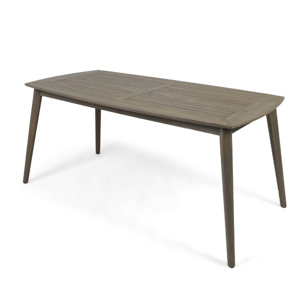 Oxendine Wooden Dining Table by George Oliver