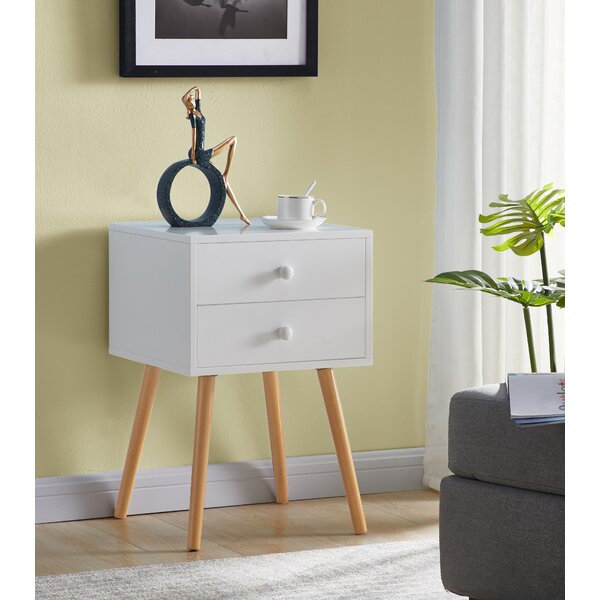 Minard End Table With Storage By Wrought Studio