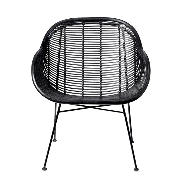 Bever Braided Barrel Chair by Langley Street
