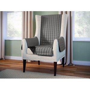 Wayfair Basics Wingback Armchair SlipcoverGray Armchair Slipcover   destroybmx com. Gray Armchair Slipcover. Home Design Ideas