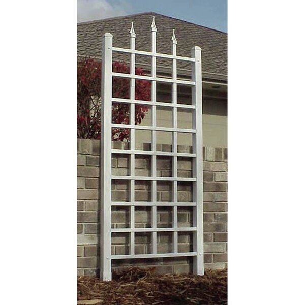 Camelot Vinyl Lattice Panel Trellis by Dura-Trel