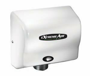 EXT Series 540W Max Hand Dryer in White by American Dryer