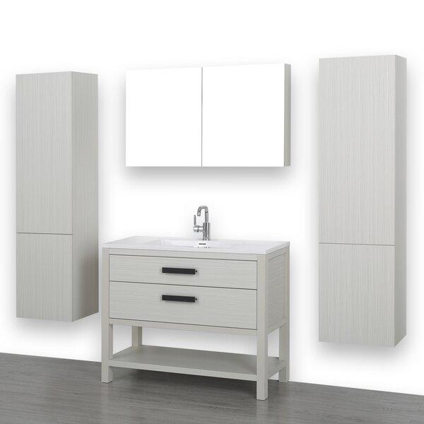 40 Single Bathroom Vanity Set with Mirror