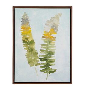 Stunning Fern Framed Graphic Art by Madison Park Signature