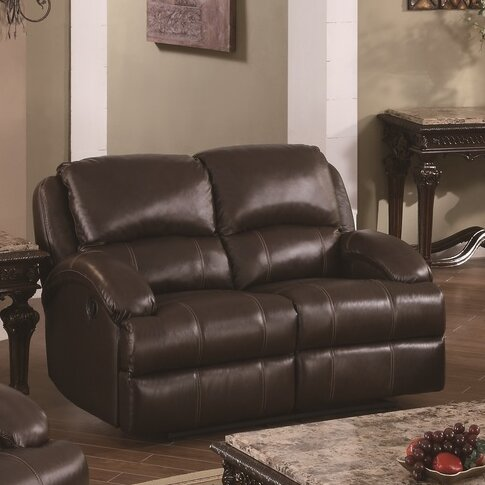 Child Recliner Reclining Loveseat by Darby Home Co