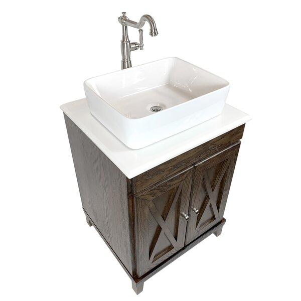 Pisek 24 Single Bathroom Vanity Set