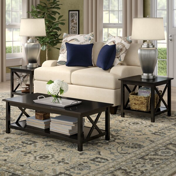 Donny 3 Piece Coffee Table Set by Red Barrel Studi