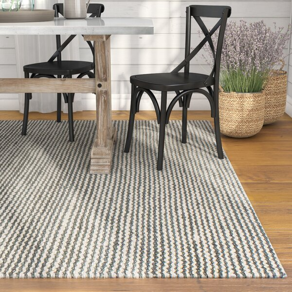 Deaver Hand-Knotted Gray Area Rug by Laurel Foundry Modern Farmhouse