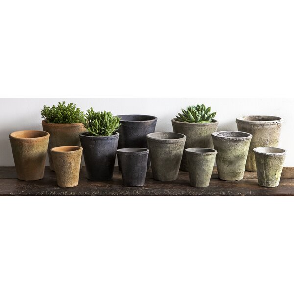 Craigmillar Terra Cotta Pot Planter Set (Set of 2) by Canora Grey