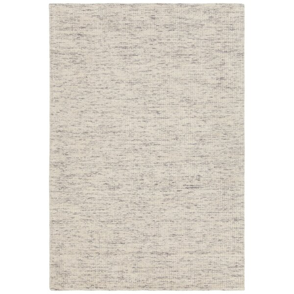 Cunningham Hand-Woven Ivory Area Rug by Rosecliff Heights