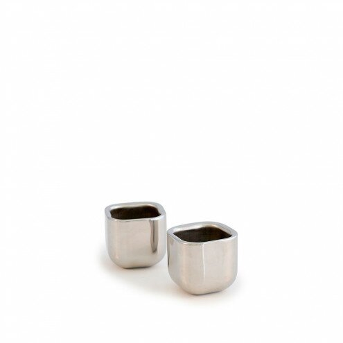 Dahill Stainless Steel Square Shot Glass (Set of 2) by Orren Ellis