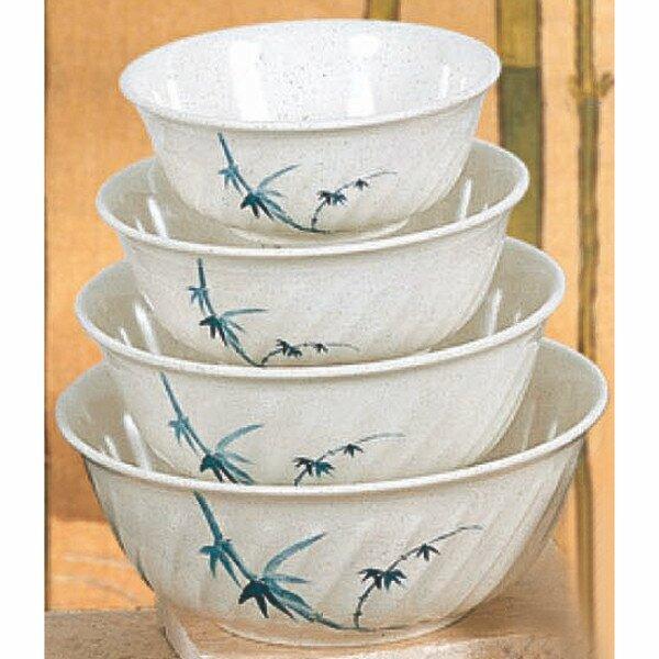 Hensley 48 oz. Melamine Swirl Bowl (Set of 12) by Bloomsbury Market