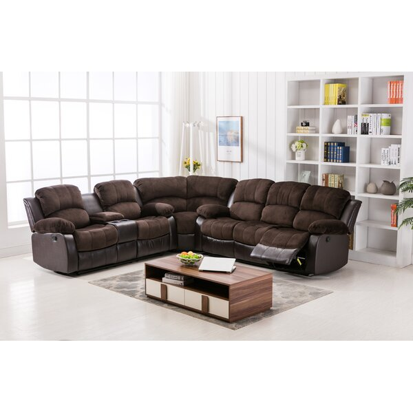 Bairdford Right Hand Facing Reclining Sectional By Latitude Run