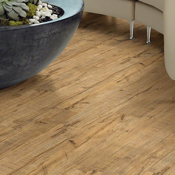 Elemental Solution 6 x 48 x 4mm Luxury Vinyl Plank in Carefree by Shaw Floors