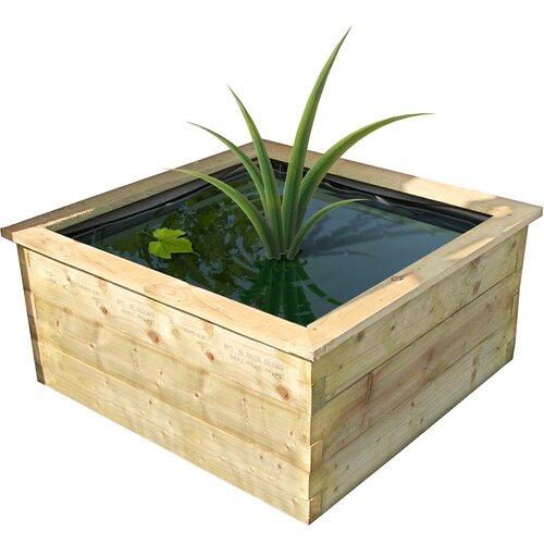 Philip Wooden Planter Box Freeport Park