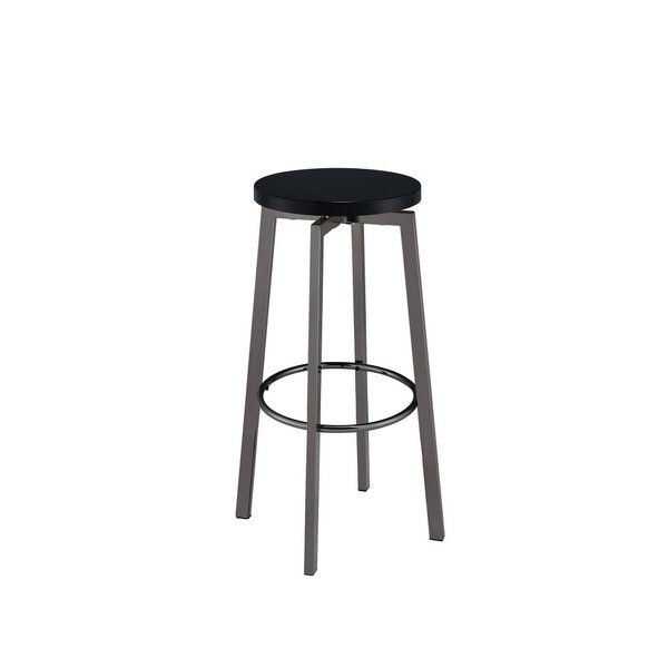 Marenco Chic Round 30.25 Bar Stool (Set of 2) by Ivy Bronx