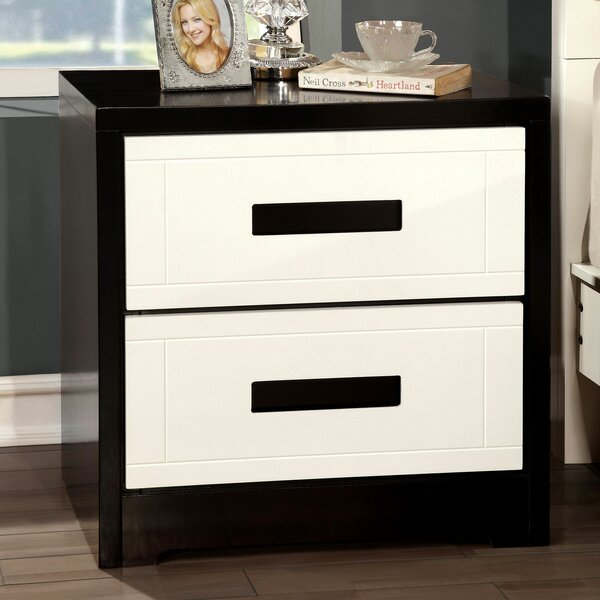 Loveland 2 Drawer Nightstand by Orren Ellis