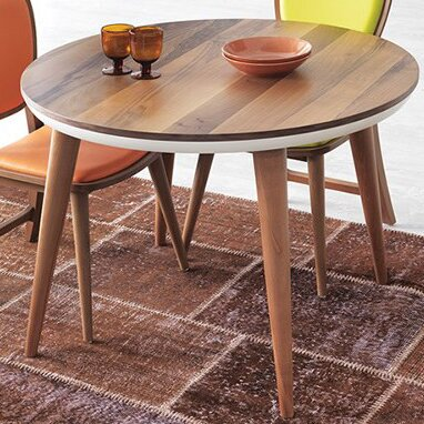 Shaunta Round Dining Table by Union Rustic