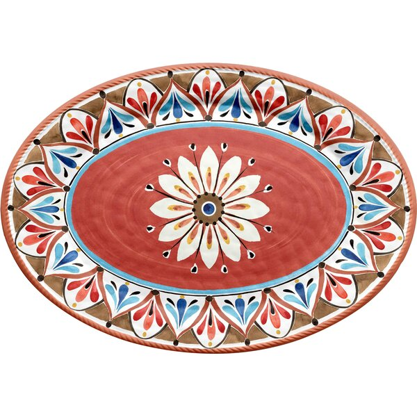 Boyle Melamine Platter by Bungalow Rose