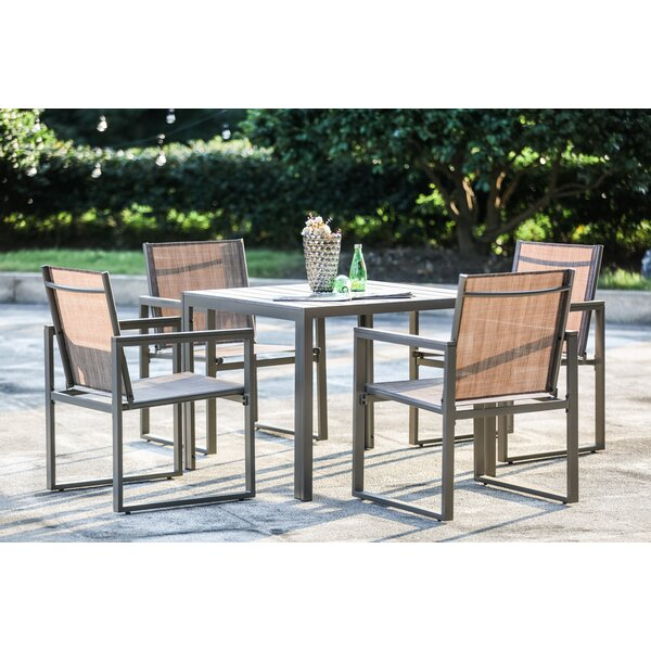 Darcie 5 Piece Dining Set By Brayden Studio