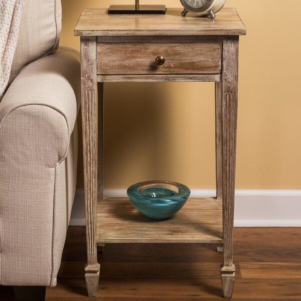 Kelm End Table With Storage By Ophelia & Co.
