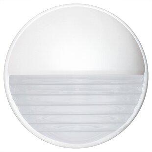 Donnie Contemporary 1-Light Opaque Outdoor Flush Mount By Latitude Run Outdoor Lighting