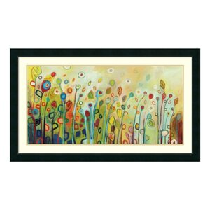 'Within' by Jennifer Lommers Framed Graphic Art by Amanti Art