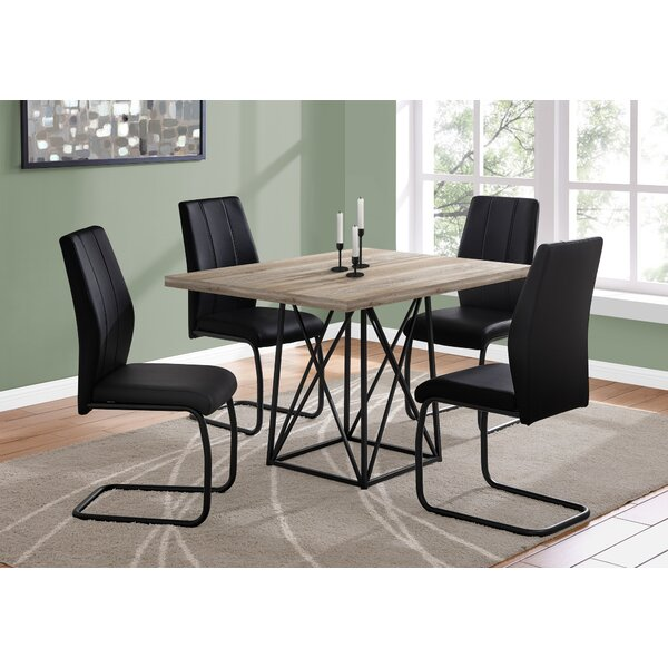 5 Piece Dining Table Set (Set of 2) by Monarch Specialties Inc.