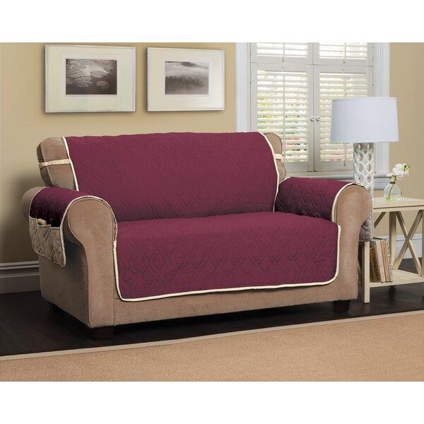 T-Cushion Sofa Slipcover by Red Barrel Studio