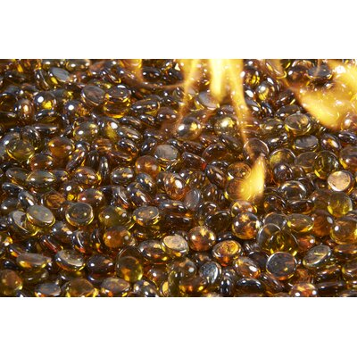 The Outdoor GreatRoom Company Crystal Fire Gems  Color: Amber