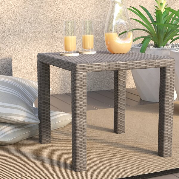 Castelli Wicker/Rattan Side Table by Wade Logan