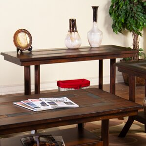 Fresno Natural Slate Console Table by Loon Peak