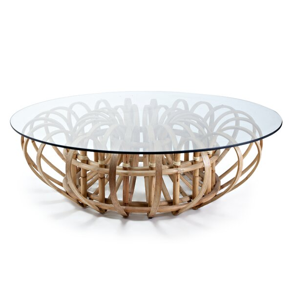 Oggetti Glass Top Coffee Tables