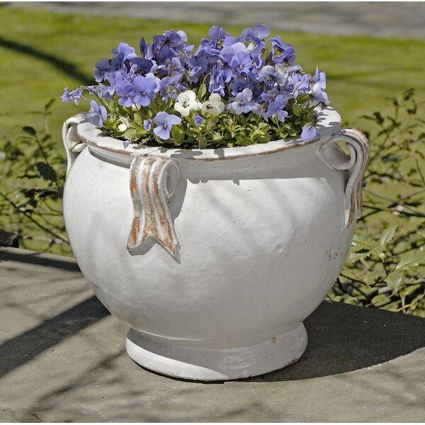 Heliodoro Round Handle Terracotta Pot Planter by One Allium Way