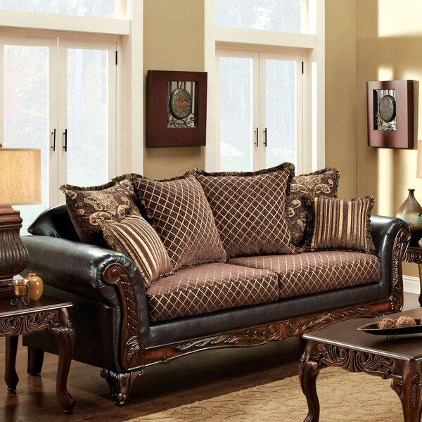 Constantine Leather Sofa by Hokku Designs