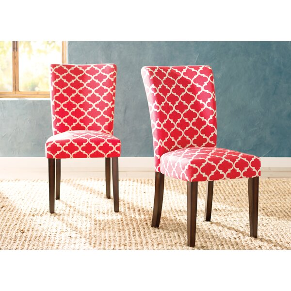 Lea Upholstered Dining Chair (Set of 2) by Darby Home Co