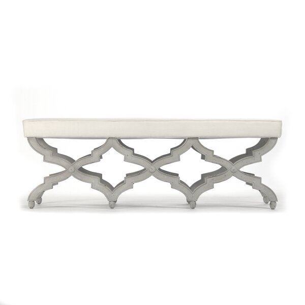 Upholstered Bench by Zentique